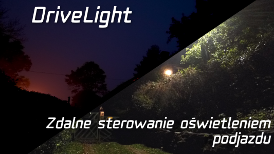 Oświetlenie podjazdu – Projekt DriveLight