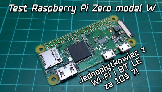 Test Raspberry Pi Zero model W !